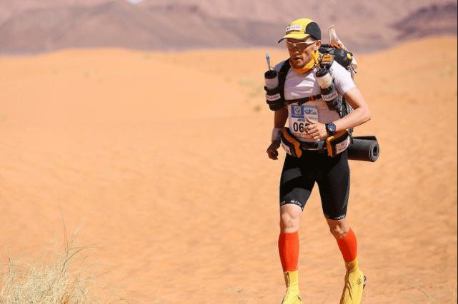 Marathon Des Sables runner