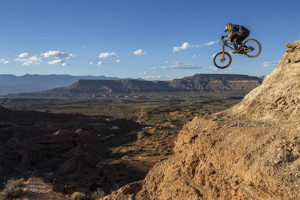 Red Bull Rampage cliff drop