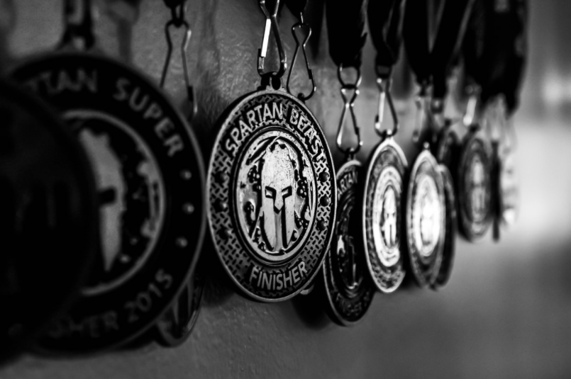 Spartan Race medals