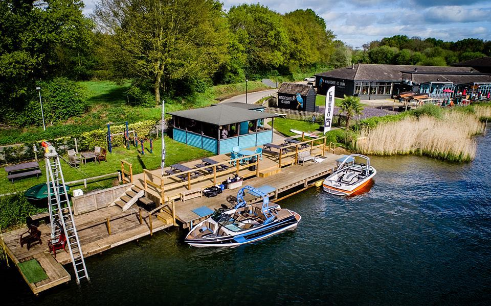 wakeboarding event UK Wake Open in Frimley Green, England