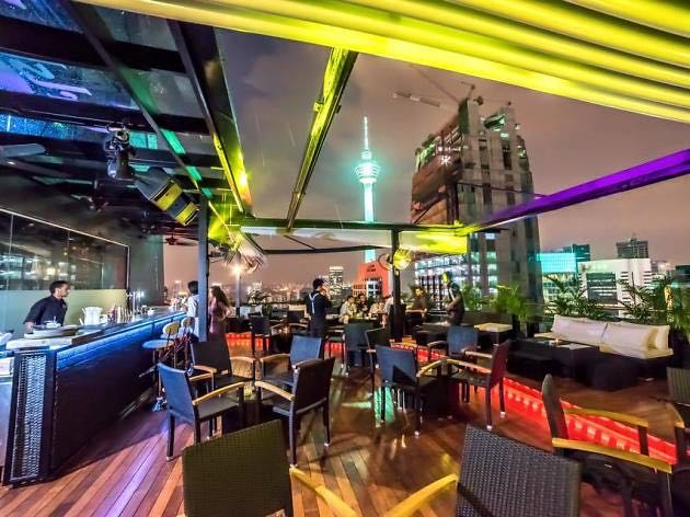 elisyum one of the best roof top bars in Kuala lumpur