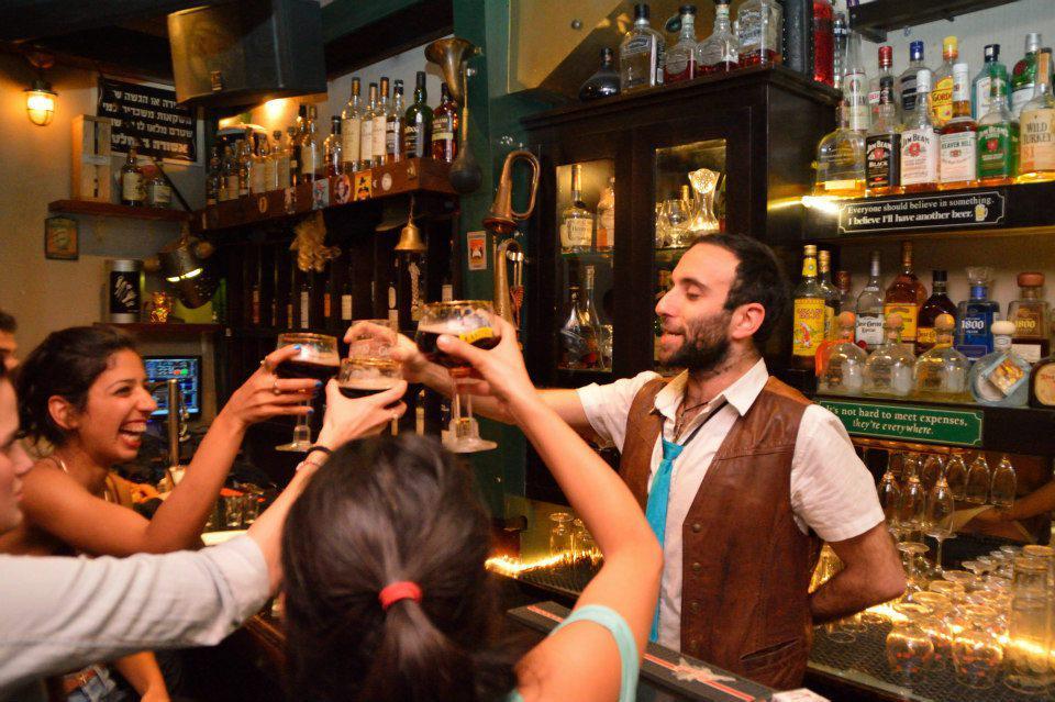 Best bars in Jerusalem, bell wood bar