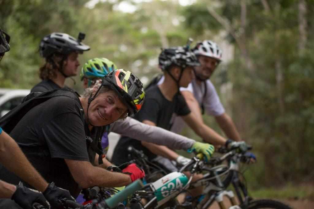 Glen Jacobs founder of mountain biking in Far North Queensland
