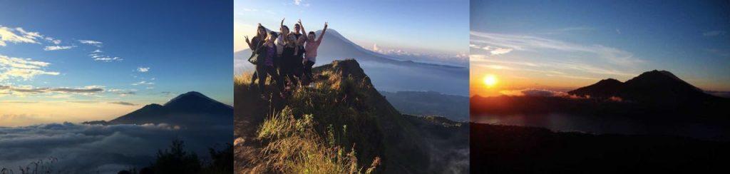 Bali adventures hiking Mount Batur