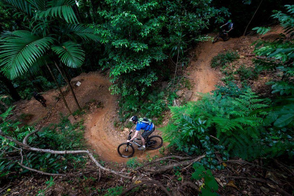Mountain biking trails in Smithfield MTB Park trails far north queensland