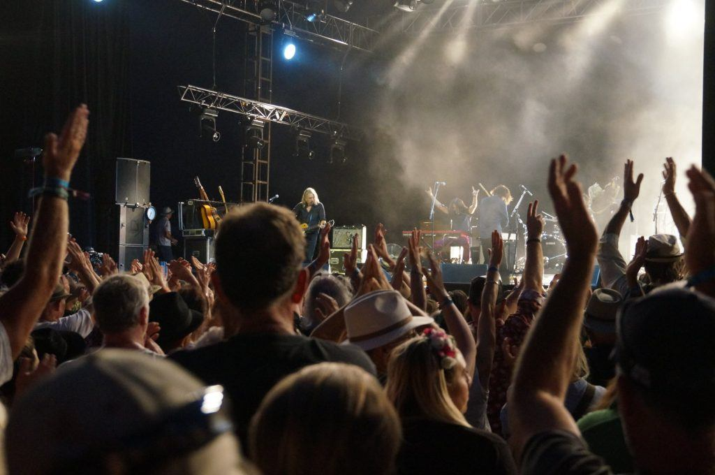 Amazing show at Bluesfest in Byron, Australia