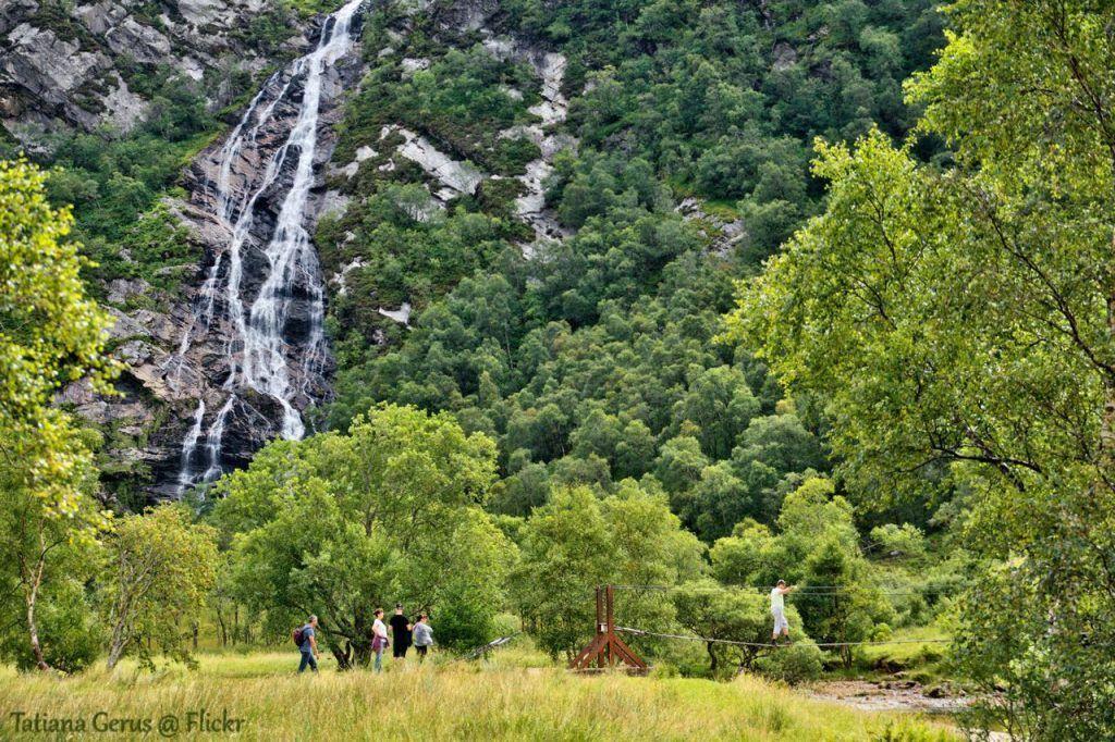 Steall falls, Glen Nevis, Scottish Highlands