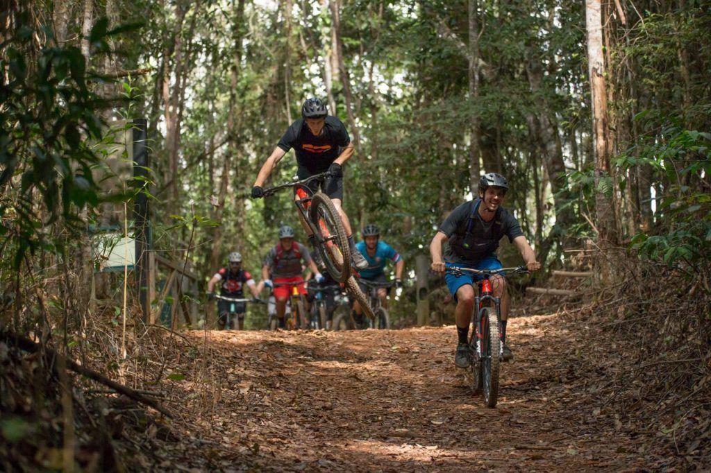 Trails of the mountain biking World Champions Far North Queensland