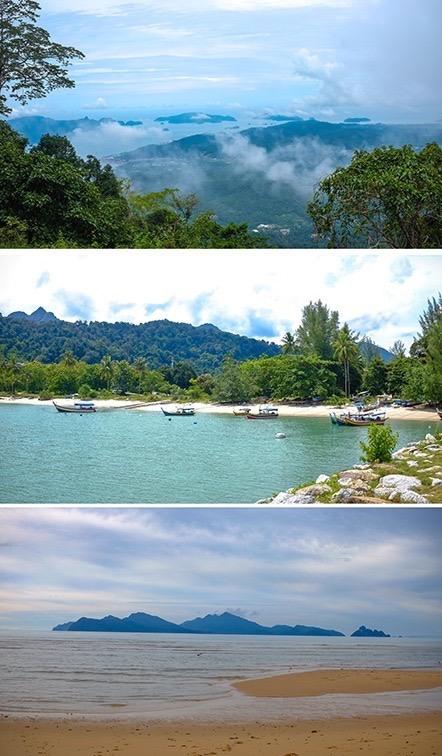 Trekking and beaches in langkawi