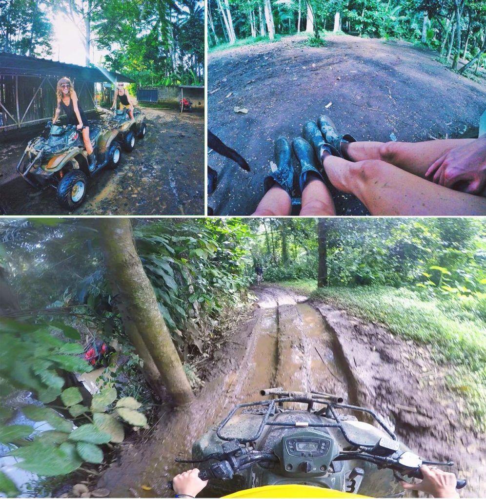 bali adventures on an ATV