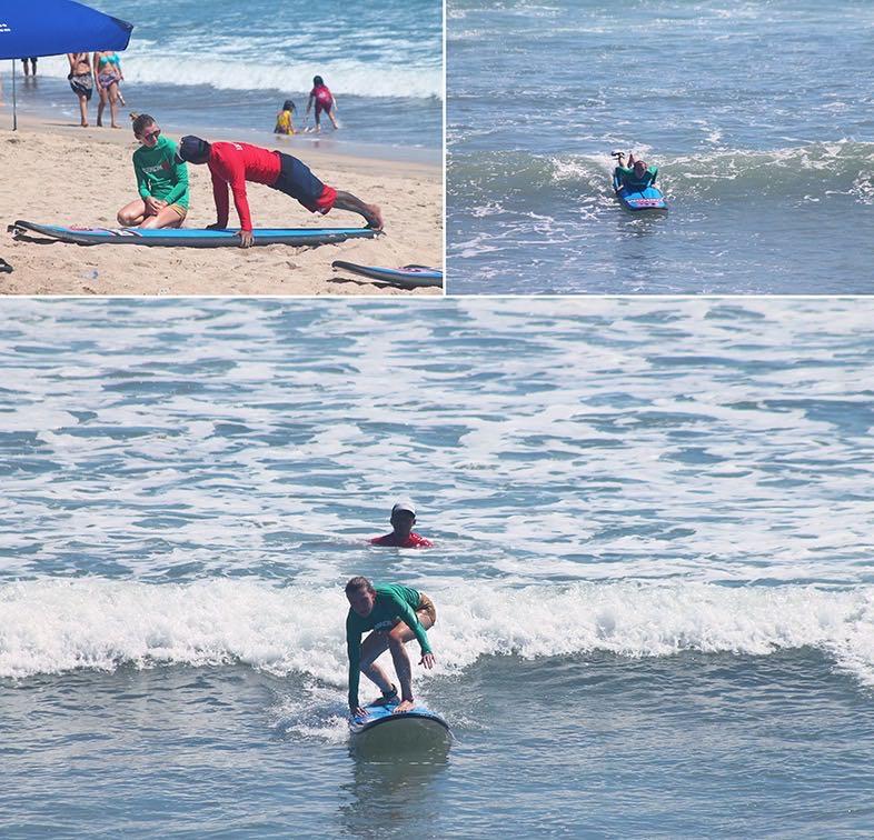bali adventures learning to surf in kuta, bali