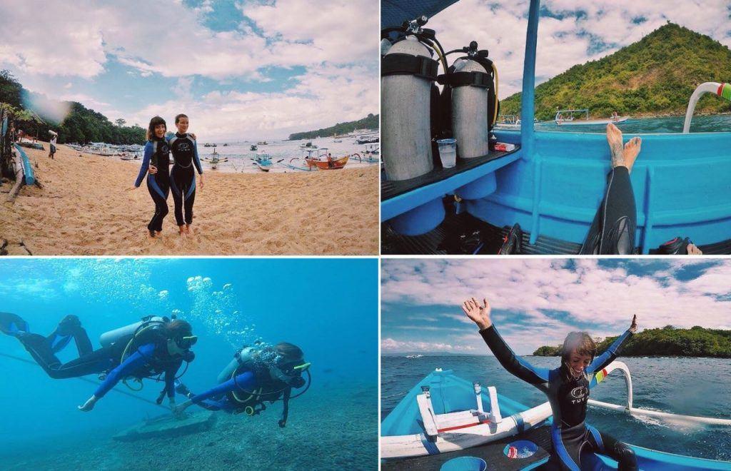Scuba diving Padang Bai