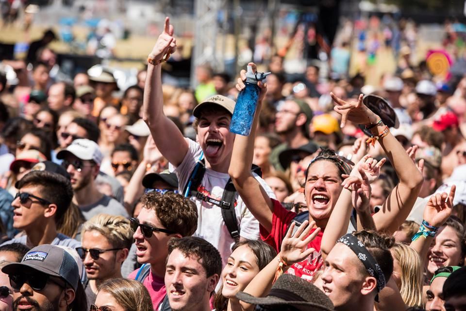 Crowd at Austin City Limits Music Festival