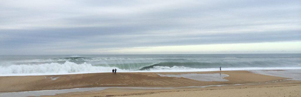 surfing Southwest France in Hossegor