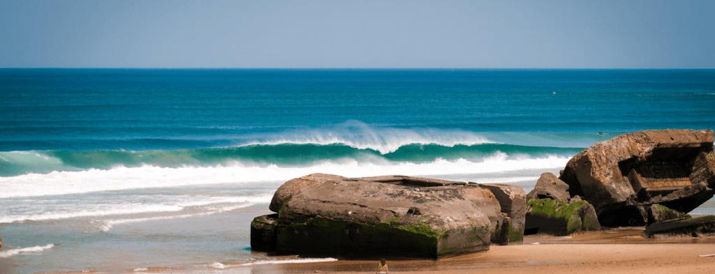 surfing southwest france in Capbreton