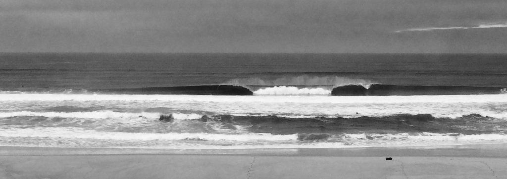 surfing southwest France in Seignosse