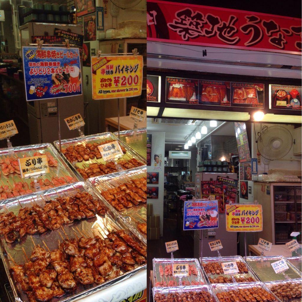Cheap eats in Tokyo SKEWERS