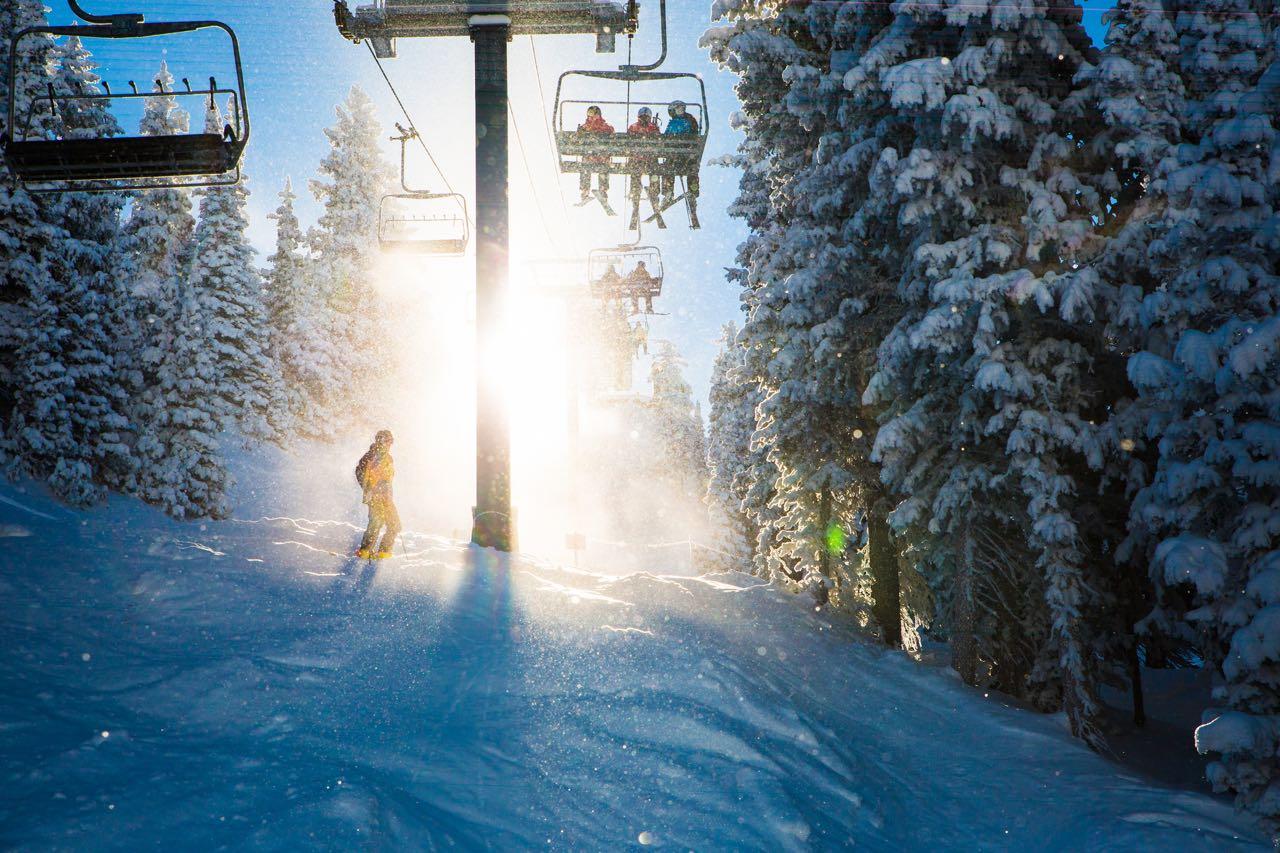 Ski Season, Alta Ski Resort, Utah