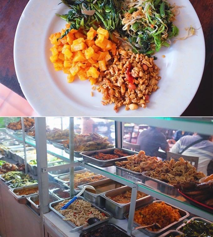 Balinese Food Solo Via on bukit peninsula