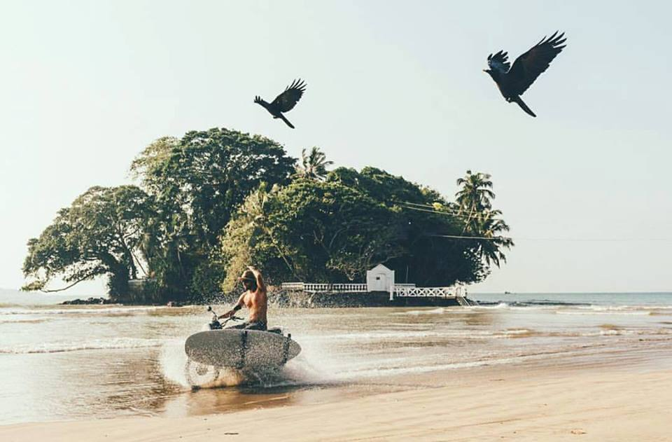 adventures in sri lanka motorbiking to the surf