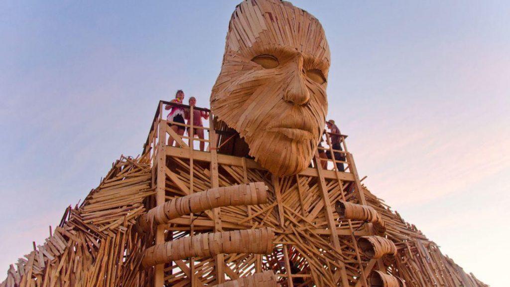 AfrikaBurn sculpture