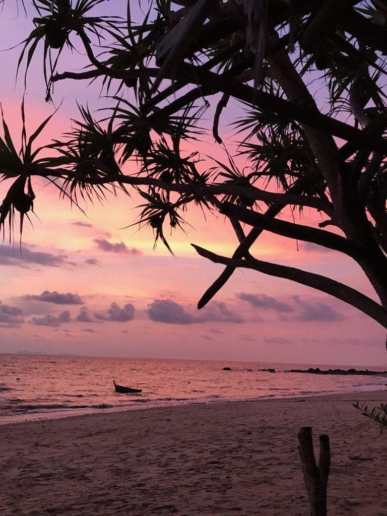 Sunsets are the best on Thailand's west coast