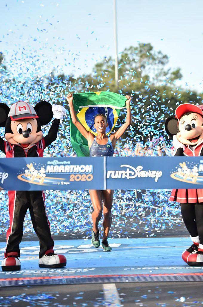 winning Disney Marathon