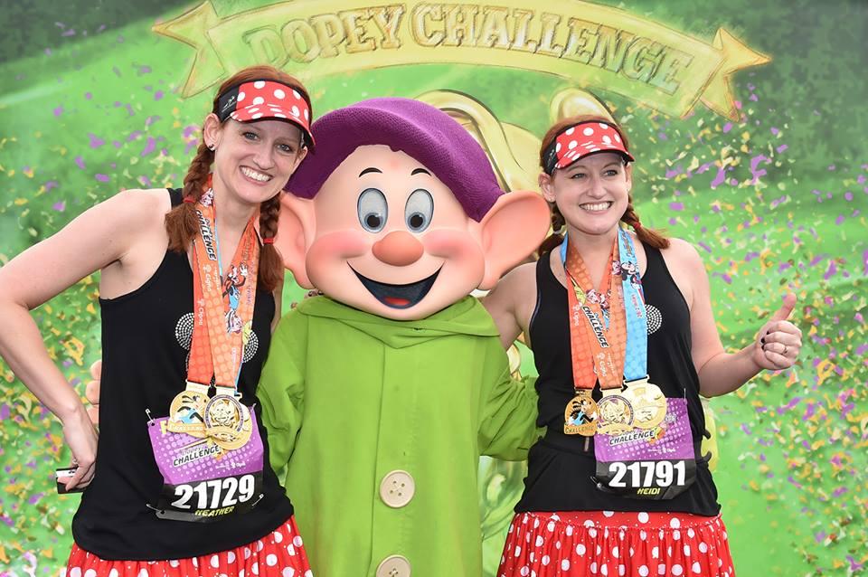 Walt Disney Marathon Dopey Challenge
