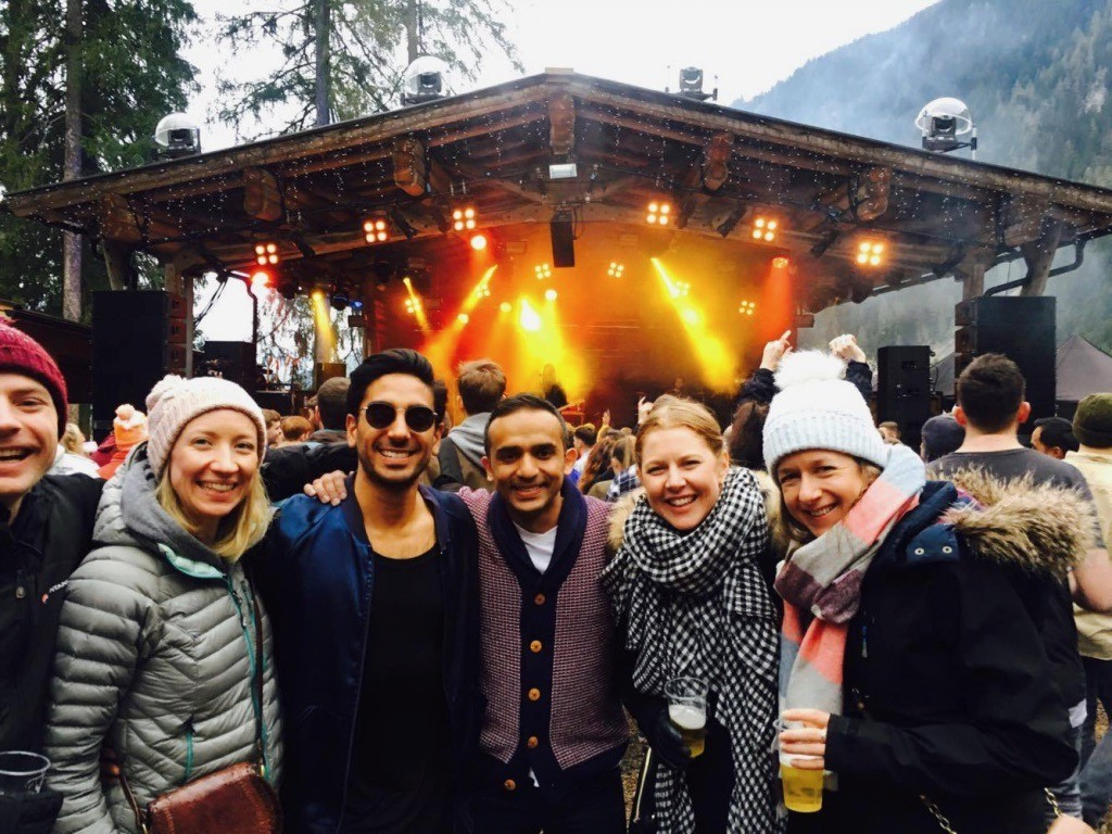 Dress up warm for mountain festivals