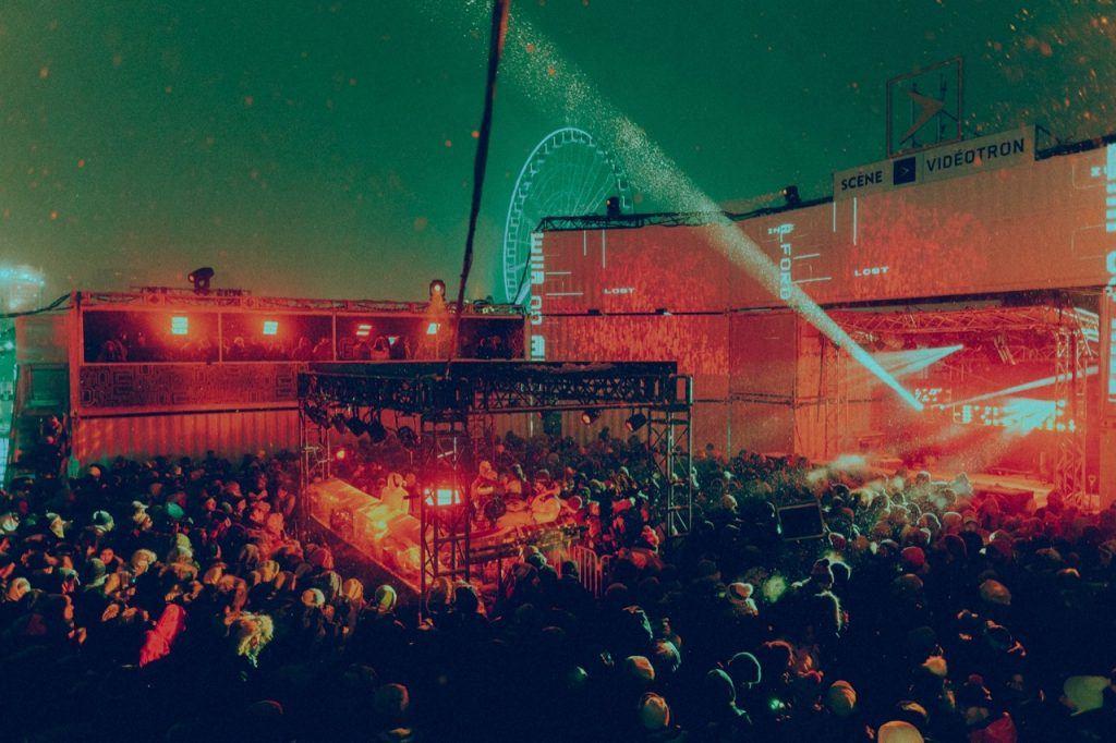 Igloofest Festival Boiler Room