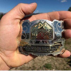 Leadville 100 MTB medal