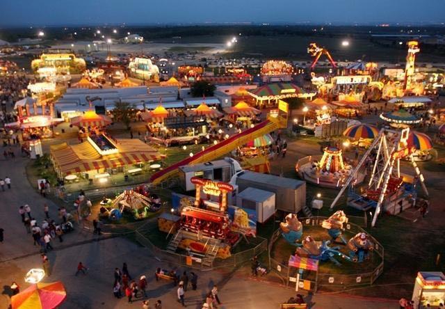 Rodeo Austin fun fair