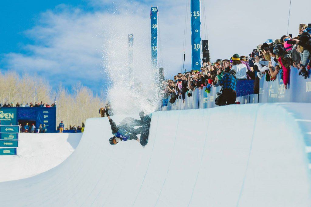 Action at US Open Snowboarding CHampionships