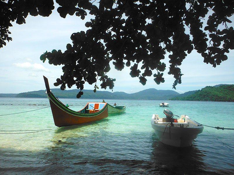 sumatra by motorbike, snorkeling and diving