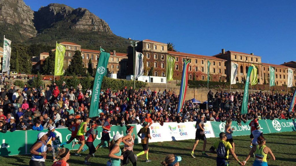 Two Oceans Marathon in South Africa