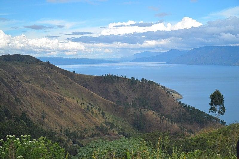 sumatra by motorbike, lake toba indonesia