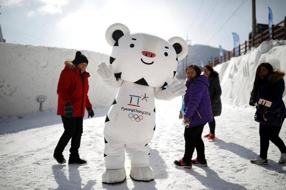 2018 Winter Olympics Mascot