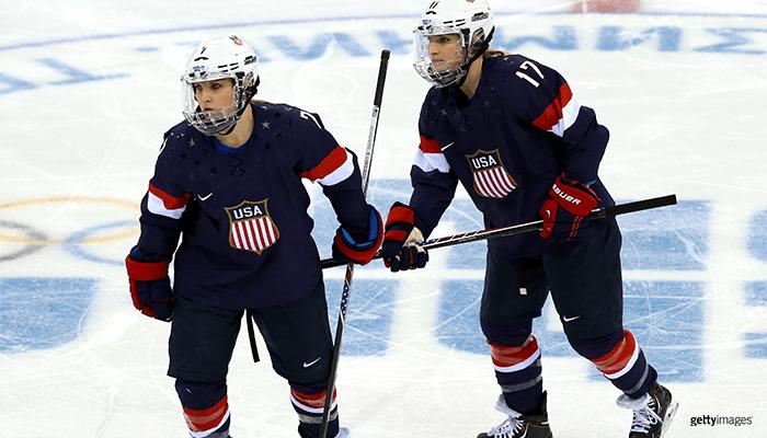 2018 Winter Olympics Team USA Ice Hockey