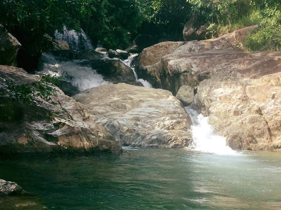 San Rafael Colombia swimming hole and rock pools