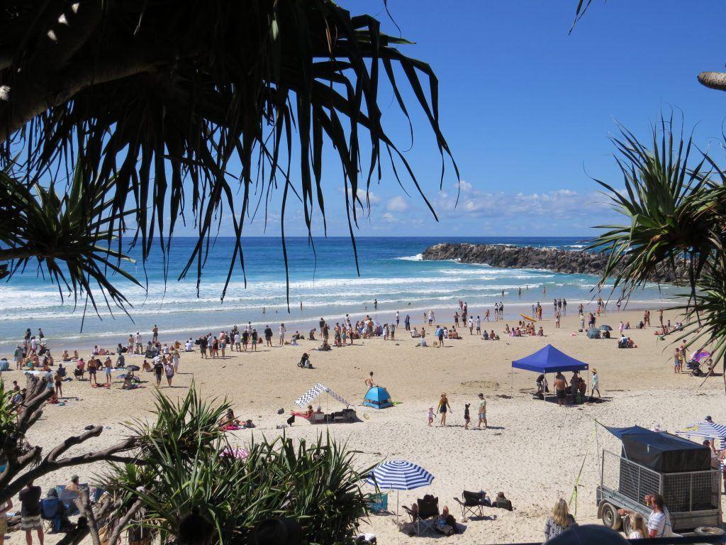 gold coast beaches in Australia