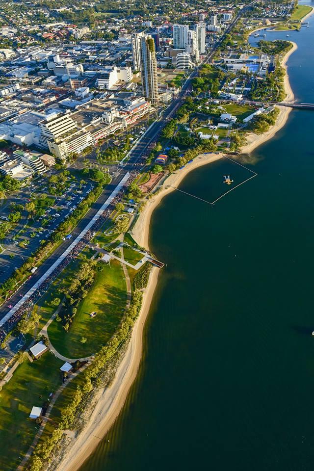Gold Coast Marathon start and finish place