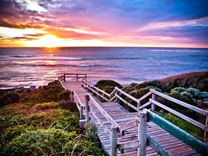 a beach in Margaret River Western Australia