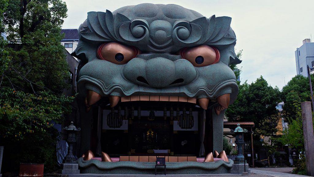 things to do in Osaka, shrine