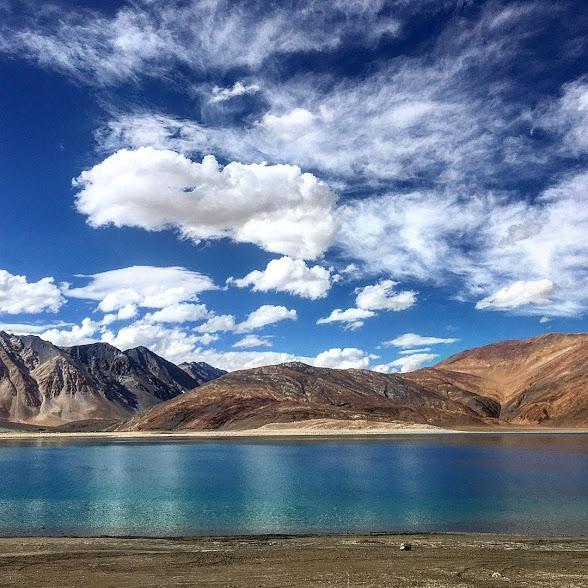 Pangong Tso lake, daring adventure in Kashmir