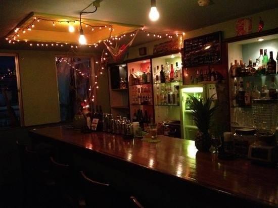 have a drink at Bar Revolucion, hiroshima, japan