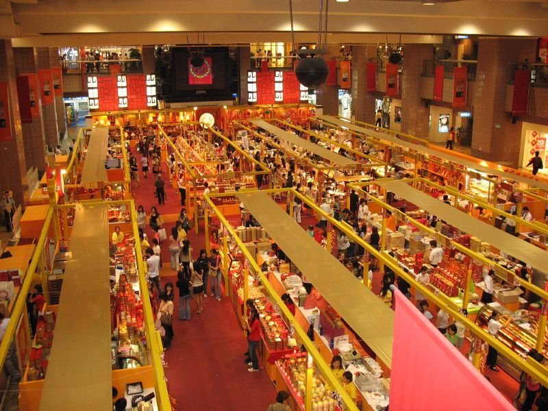 things to do in Osaka, food court