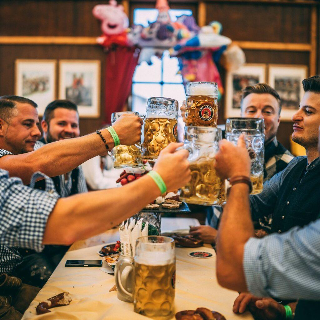 Steins at Oktoberfest