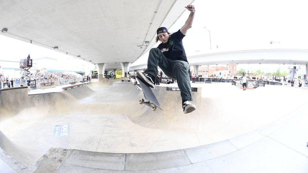 Skateboard at X Games