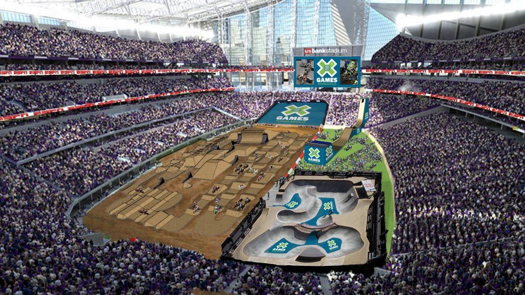 Epic atmosphere at X Games