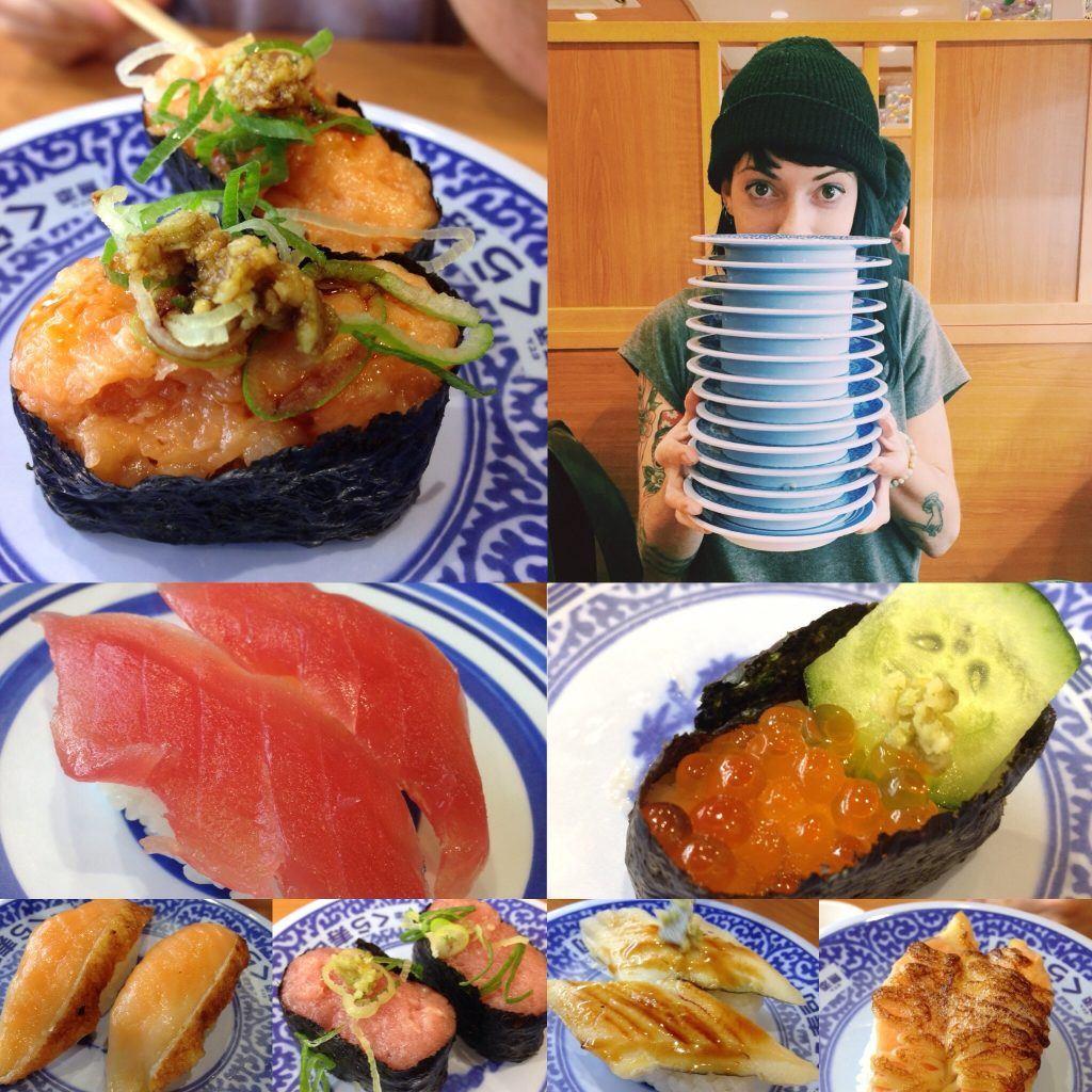 things to do in Osaka, sushi